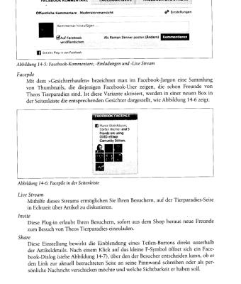 3. Ausschnitt vom Buch OXID esales