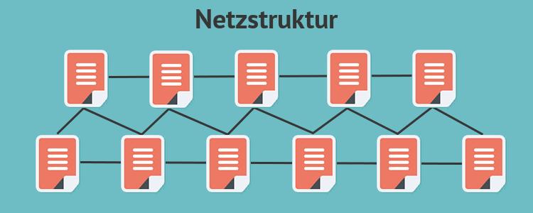 Netzstruktur Hyperlinks