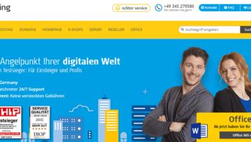 Homepage Baukasten Vergleich 2019 Hosterz