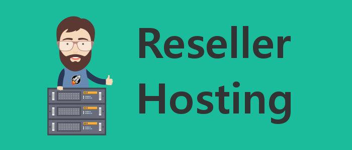 Reseller Hosting - Headerbild